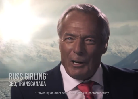 Anti-Keystone ad lampooning Transcanada CEO rejected by U.S. network