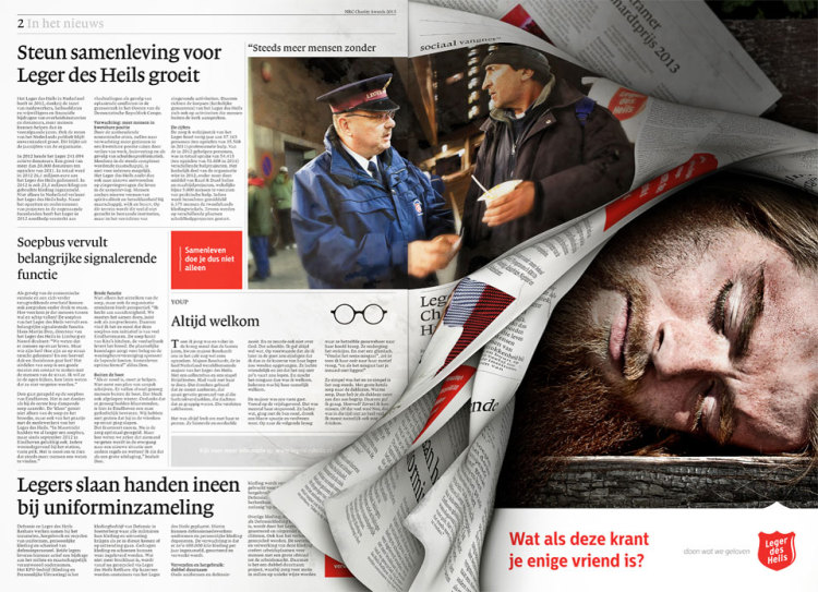 The Battle of the Newspaper Ads: Belgium vs Holland