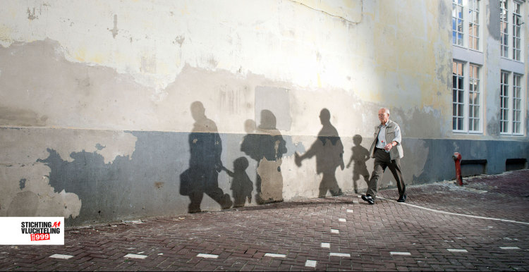 Stichting Vluchteling - The Dutch Refugee Foundation: Shadow Art Makes Refugees Visible