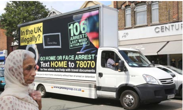 UK Home Office launches a truly shameful immigration campaign