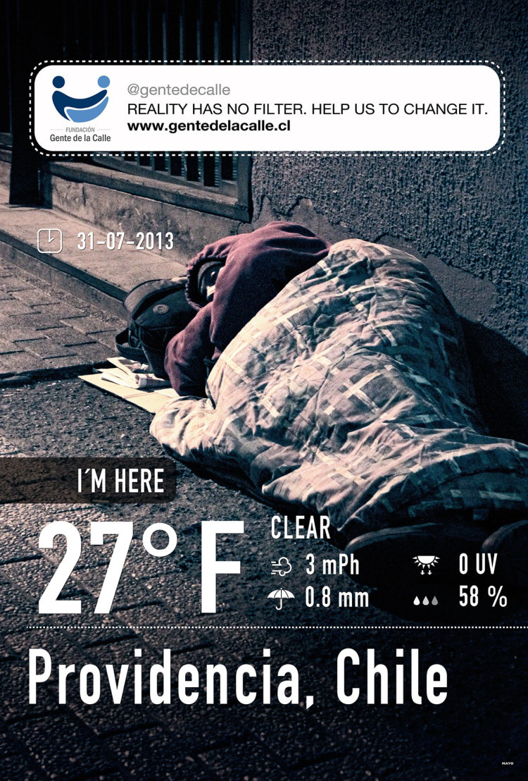 Fundación gente de la Calle (People of the streets Foundation): The Reality of Homelessness with InstaWeather