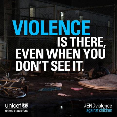 Liam Neeson makes the invisible visible for UNICEF