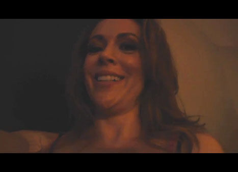 Alyssa Milano does the most important sex tape of our age
