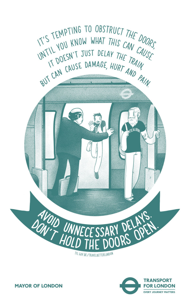 Behave like a Poet at London's transport network #TravelBetterLondon