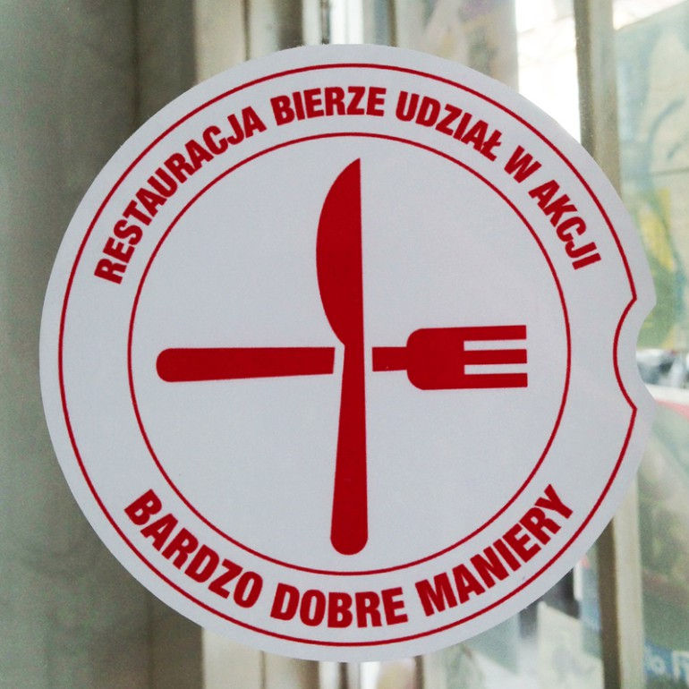 Crossed Cutlery Fundraising for the Red Cross #bdbmaniery