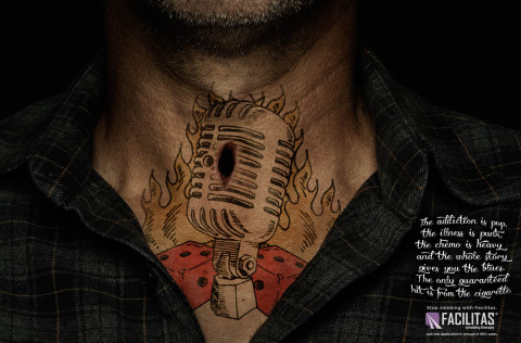 Facilitas: Stop smoking with a tattoo