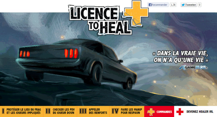 French Red Cross: Licence to Heal