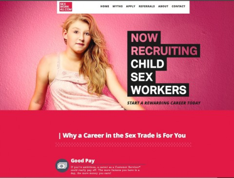 Shock campaign confronts Canadians with the realities of trafficked youth