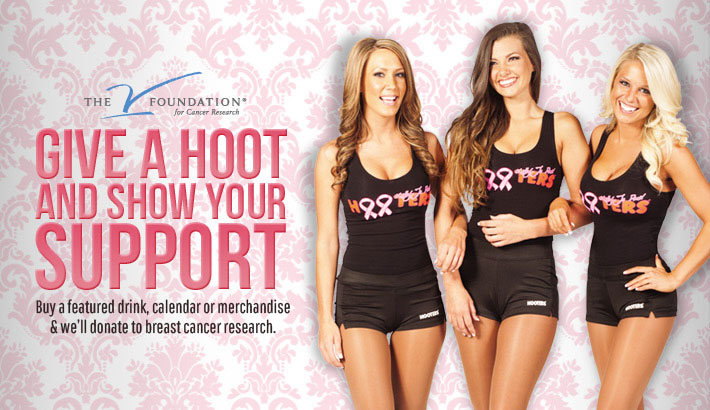 Hooters for breast health