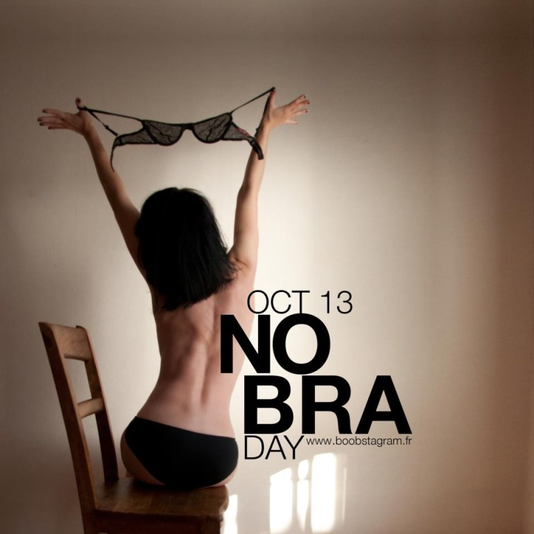 #nobraday isn't helping the cause