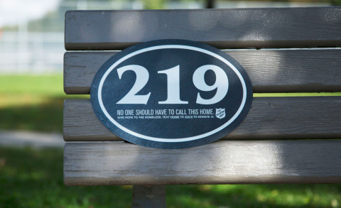 Salvation Army Canada use house numbers of homeless