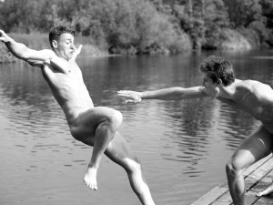 Get your hands on rowing hunks against homophobia