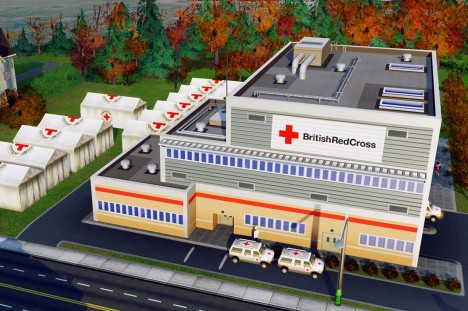 Sim City Red Cross