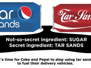 Environmentalists launch different kind of cola war