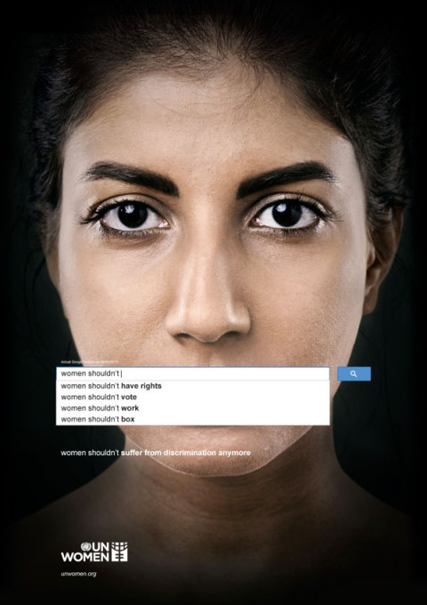 UN Women: The shocking answers from Google's autocomplete feature on sexism