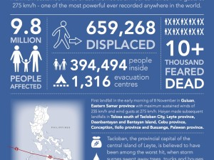 Haiyan: Infographing a humanitarian catastrophe