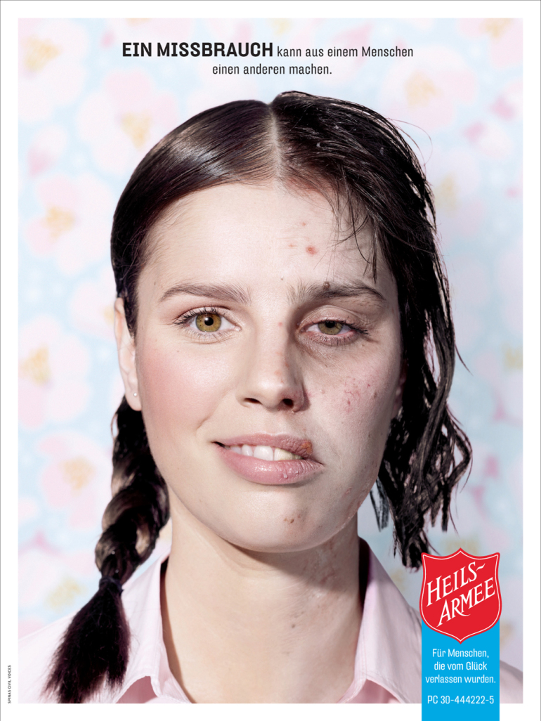 Heilsarmee Schweiz: The Christmas campaign about people who have been out of luck