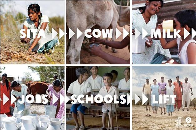 Oxfam launches new campaign, Lift Lives for Good