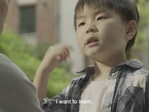 A moving TV ad about the silent world of a Chinese boy