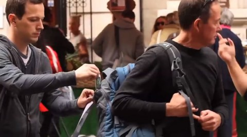 Crimestoppers UK does reverse pickpocketing