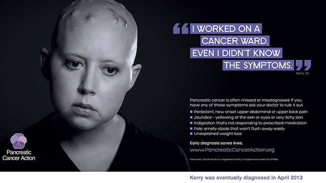 Pancreatic Cancer Action UK, Pancreatic Cancer ad causes controversy