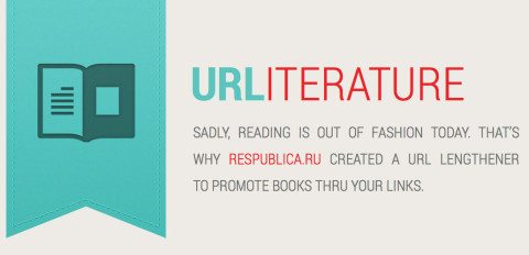 urliterature: Promote reading with an URL lengthener