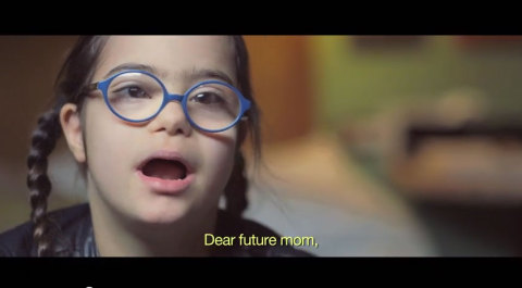 A message from 15 people with Down Syndrome to a future mom