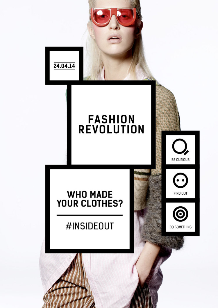 Fashion Revolution Day: Who Made Your Clothes? #insideout