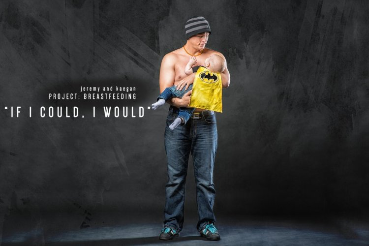 What if men breastfed?