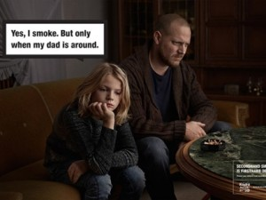 When you smoke, your kids smoke.