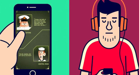 Bekol: A hearing test disguised as a mobile game
