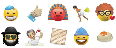 Emojew: Fun and Fundraising with the Jewish Emoji app