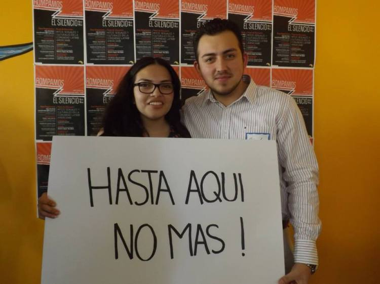 MUJER: New campaign on sexual violence: It's a men's issue.