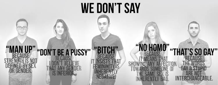 """""""You Don't Say"""" campaign addresses problematic language"""