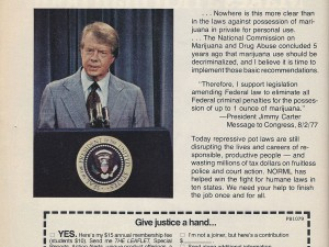 [#TBT] Jimmy Carter as a Spokesman for Pot Decriminalization, 1979