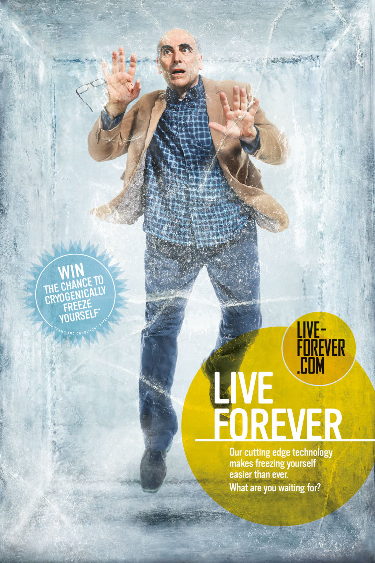 Remember A Charity: Live forever