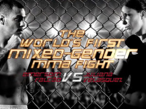 The fight that caused controversy: Mixed Gender Fight