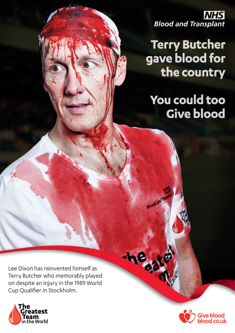 NHS Blood and Transplant: Greatest Team in the World with Terry Butcher