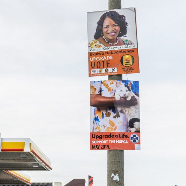 NSPCA Election Poster Hack