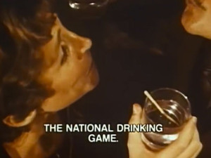 "1970s: ""National Drinking Game"" PSA says alcohol dependence isn't funny  #TBT #throwbackthursday"