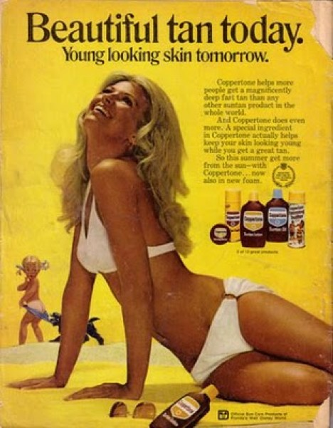 1970s: American Cancer Society begins the long fight against tanning