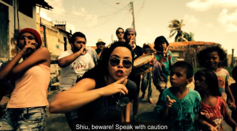 Youth take the streets in this powerful Brazilian Rap da Rua #NoWorldCup