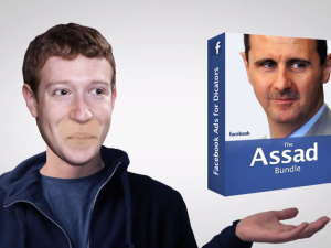 Facebook's new product line: Ads for Dictators #Syria