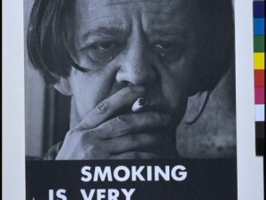 "1972: ""Smoking is Very Glamorous"" poster  #TBT #ThrowbackThursday"