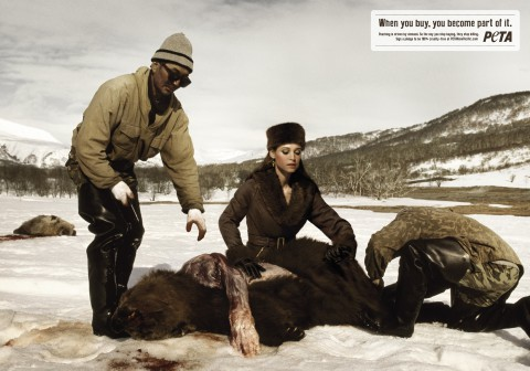 PETA anti-poaching campaign