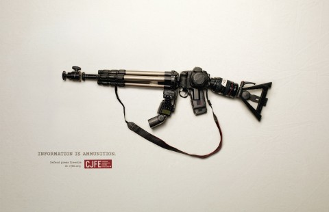 Canadian Journalists for Free Expression: Information is ammunition