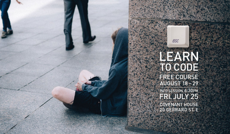 Covenant House: Learn to code to escape homelessness