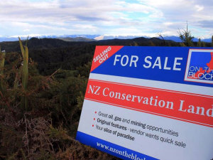 New Zealand's rivers, oceans and public conservation land is up for sale