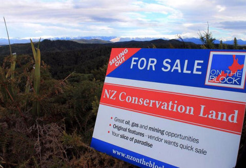 Forest & Bird: New Zealand's rivers, oceans and public conservation land is up for sale