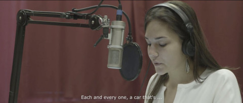 A stutterer becomes a professional radio voice-over